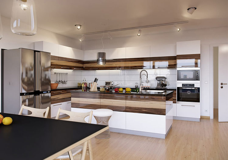 Thông thường, gia chủ thường ít dành sự quan tâm đến việc thiết kế nhà bếp. Điều này hoàn toàn sai lầm. Vì gia đình có hạnh phúc, vui khỏe là nhờ vào thiết kế của căn bếp và việc tân trang nhà bếp thường xuyên.