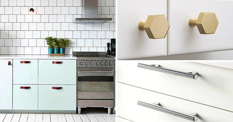 Tay nắm tủ có lẽ là chi tiết sử dụng nhiều nhất nhưng ít được quan tâm nhất.