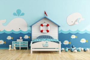 Trang trí phòng trẻ em với gợi ý về giấy dán tường