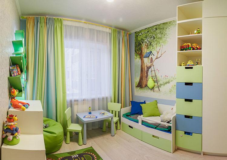 Những điều cần lưu ý khi thiết kế nội thất phòng ngủ trẻ em