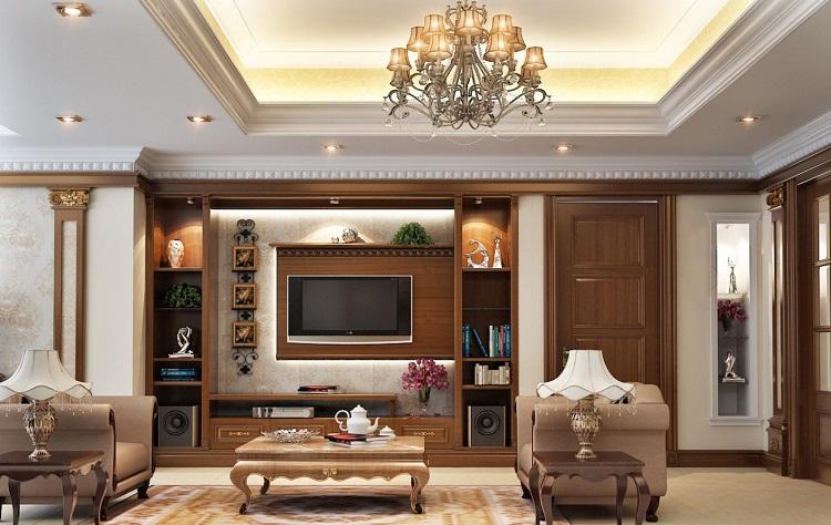 Vì sao nên thiết kế nội thất biệt thự tân cổ điển?