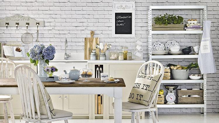 Có rất nhiều giấy dán tường an toàn cho không gian ẩm ướt như nhà bếp