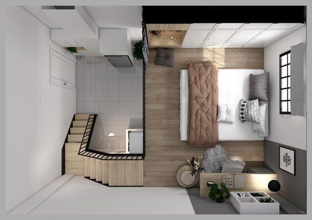 Cách thiết kế nội thất thông minh cho căn hộ 30m2