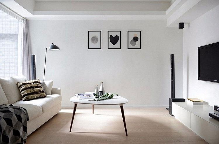 Làm sao để tiết kiệm khi thiết kế nội thất căn hộ 2 phòng ngủ