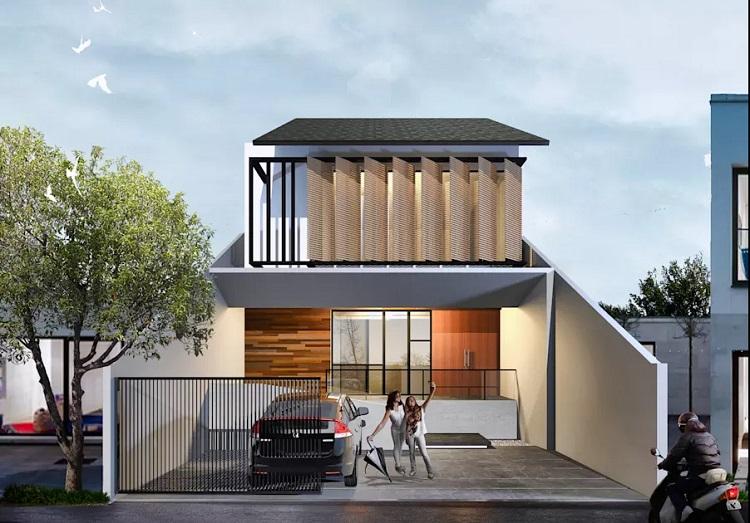Những mẫu nhà 2 tầng nhỏ đẹp dành cho ngân sách hạn chế