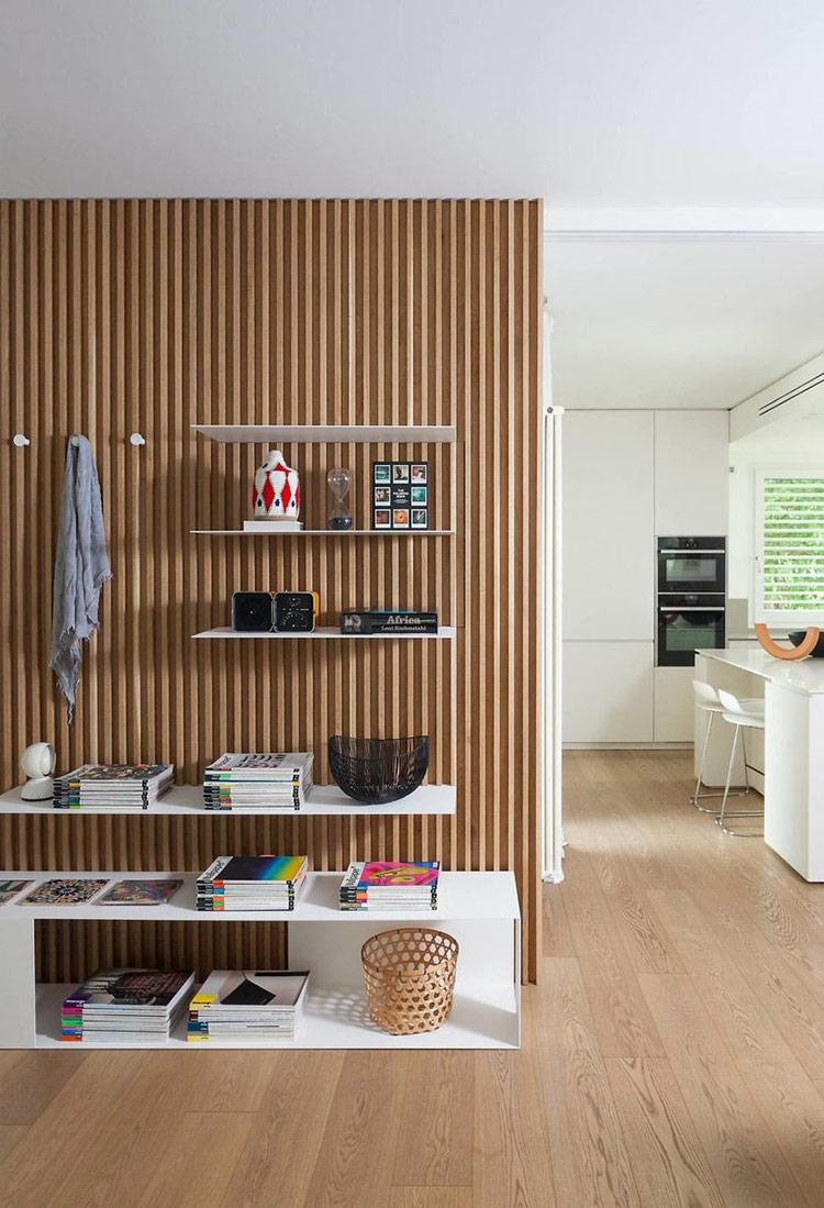 Vật liệu cho Minimalist rất đa dạng và được sử dụng tùy thuộc theo sở thích của bạn. Một bề mặt bê tông trần, cốp pha gỗ hoặc tre một cách đơn giản cũng đủ làm nổi bật thiết kế nội thất căn hộ tối giản của bạn rồi.
