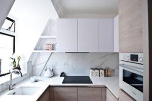 Những giải pháp tiết kiệm không gian cho nhà bếp nhỏ