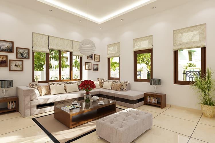 Bí quyết giúp thiết kế nội thất phòng khách chung cư đẹp giá rẻ
