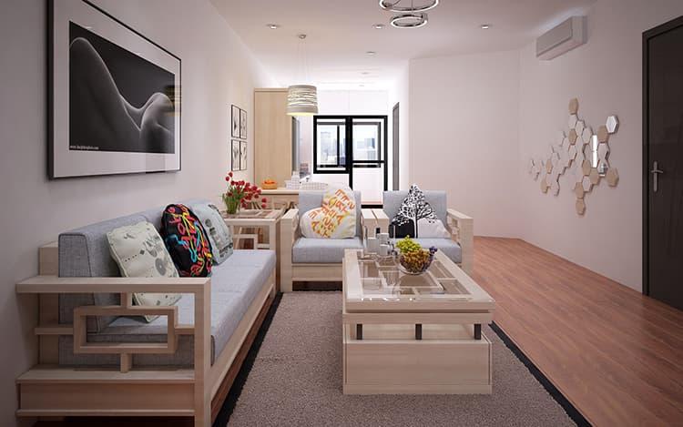 Bật mí bí quyết thiết kế nội thất phòng khách chung cư nhỏ đẹp