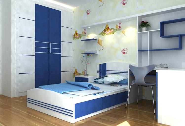 Cách chọn đồ dùng thiết kế nội thất phòng ngủ trẻ em