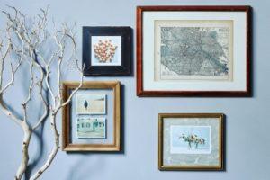 6 cách trang trí bằng khung trống bạn không nên bỏ qua