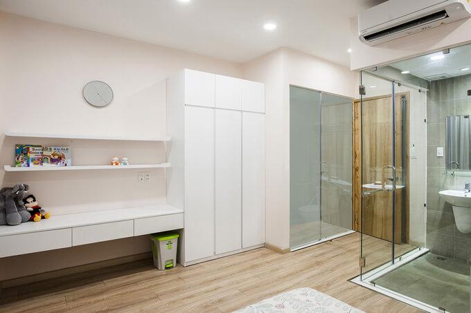 Cách thiết kế nội thất đẹp cho mặt tiền nhà ống bị méo