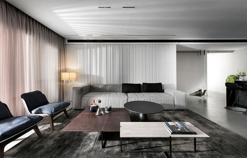 Nội thất căn hộ đơn giản, hiện đại.