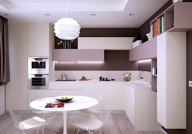 Một bộ bàn ghế ăn toàn màu trắng mang lại sự tươi mới cho toàn bộ nhà bếp. Đồng thời, nó sẽ giúp bất kỳ căn bếp nào cũng trở nên tươi sáng và rực rỡ hơn.