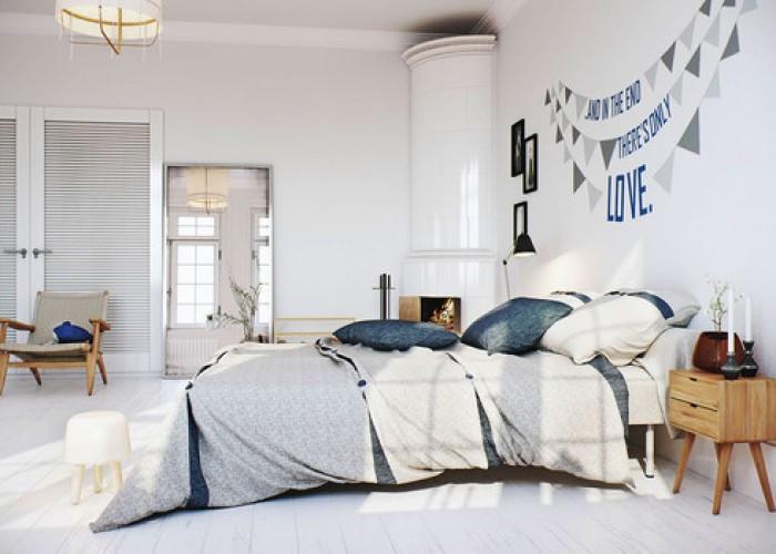 giường ngủ màu sắc phù hợp