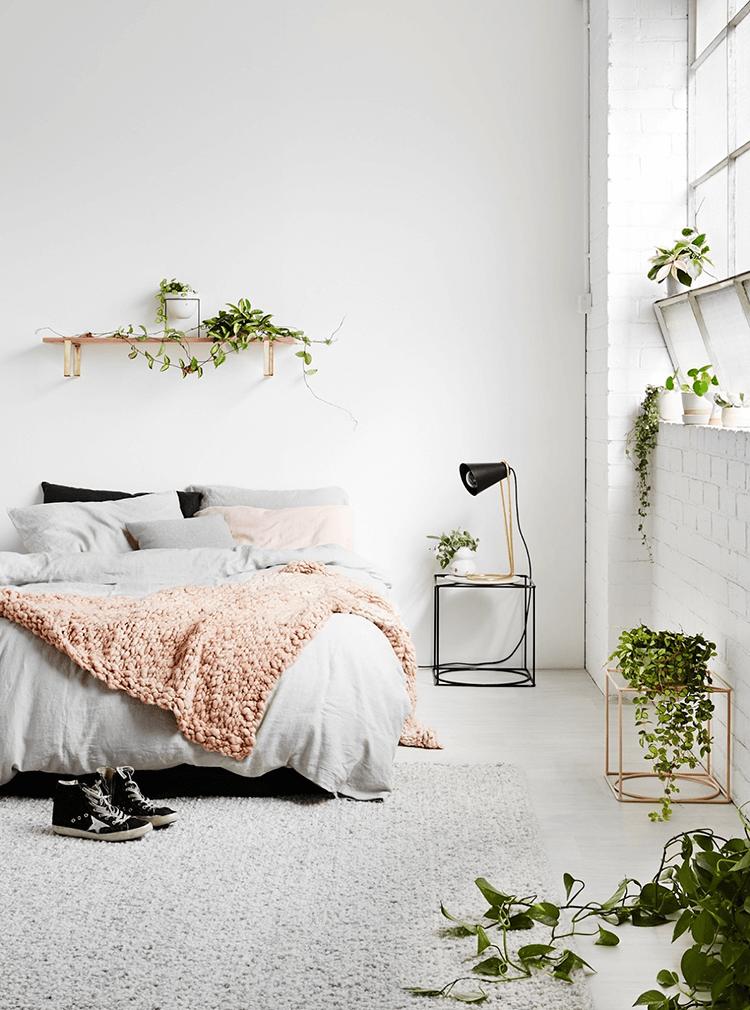 Bật mí những kiểu thiết kế nội thất phòng ngủ phong cách tối giản đẹp