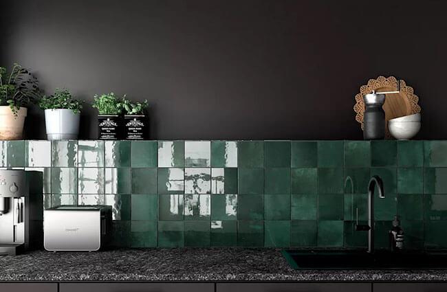 Những bật mí thú vị về gạch ốp tường thiết kế nội thất chung cư