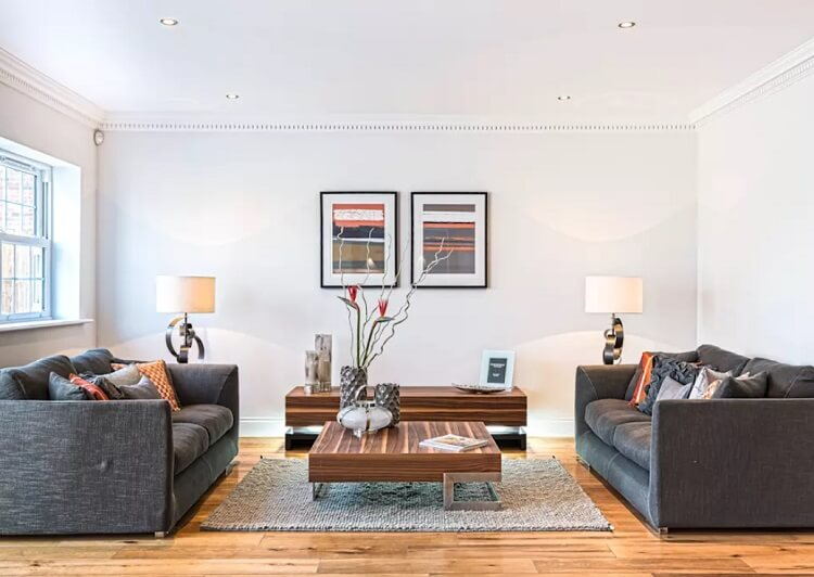 Những kiểu thiết kế nội thất phòng khách dễ bố trí