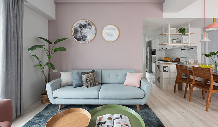 Bật mí cách thiết kế nội thất chung cư 80m2 cho người mệnh Mộc