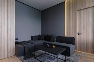 Làm thế nào để sử dụng ánh sáng thêm sự thú vị cho nội thất tối màu?