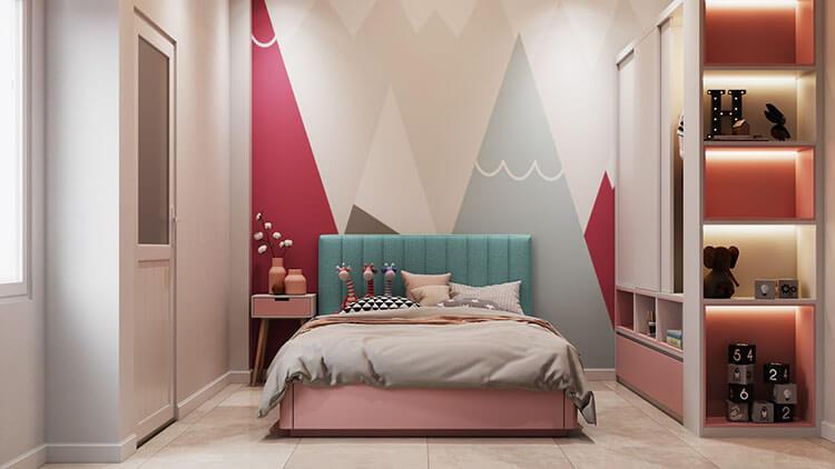 Làm sao để con thích thiết kế nội thất phòng ngủ trẻ em?