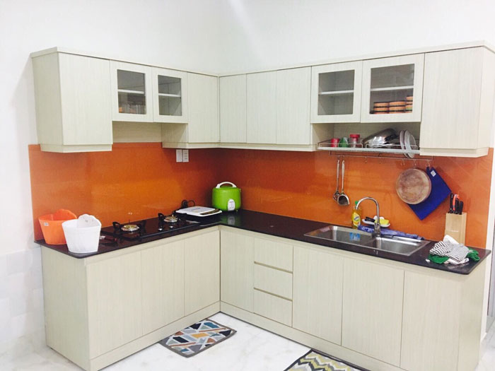lựa chọn nội thất cho gian bếp