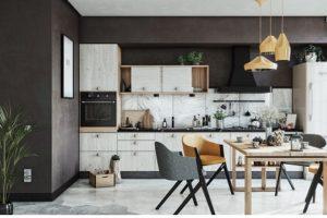 Khám phá vẻ đẹp của 10 mẫu bếp một bức tường