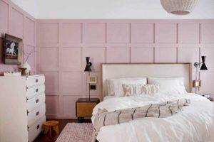 Bộ sưu tập phòng ngủ màu hồng với nhiều phong cách được yêu thích