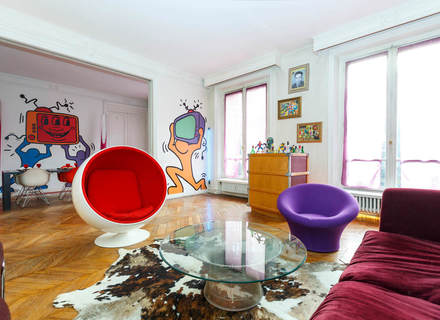 Khám phá sự táo bạo của phòng cách Pop Art trong thiết kế nội thất