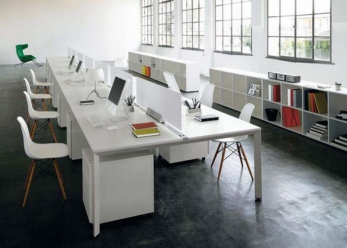 mô hình văn phòng mở