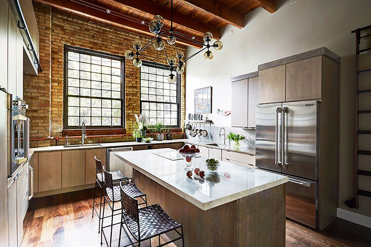 5 mẫu thiết kế nội thất bếp công nghiệp đẹp