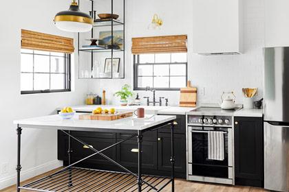 Làm thế nào để tận dụng tối đa không gian trong một căn bếp đơn tường?