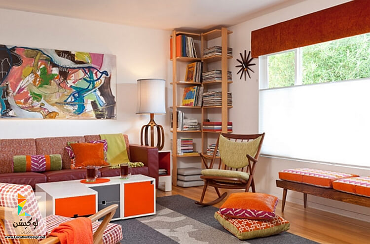 Màu sắc sặc sỡ - Xu hướng thiết kế nội thất căn hộ mới nhất