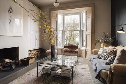 Thiết kế căn hộ đẹp mê ly với lối trang trí đậm