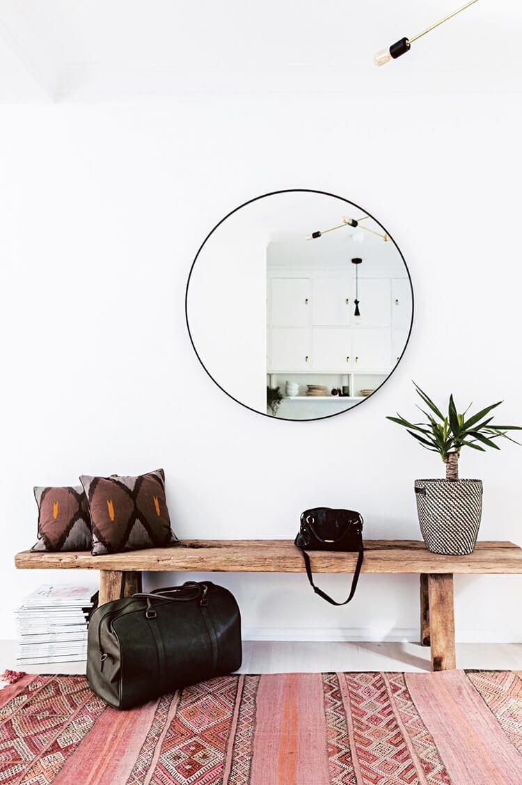 Hướng dẫn ứng dụng phong cách thiết kế nội thất Bohochic cho lối ra vào nhà