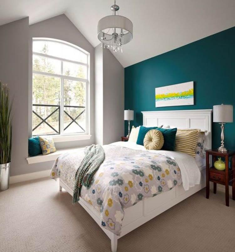 Bật mí những tông màu cho thiết kế nội thất phòng ngủ lãng mạn