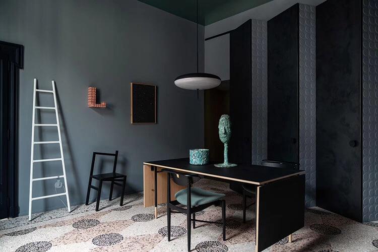 Biến hóa mảng tối trong thiết kế nội thất căn hộ