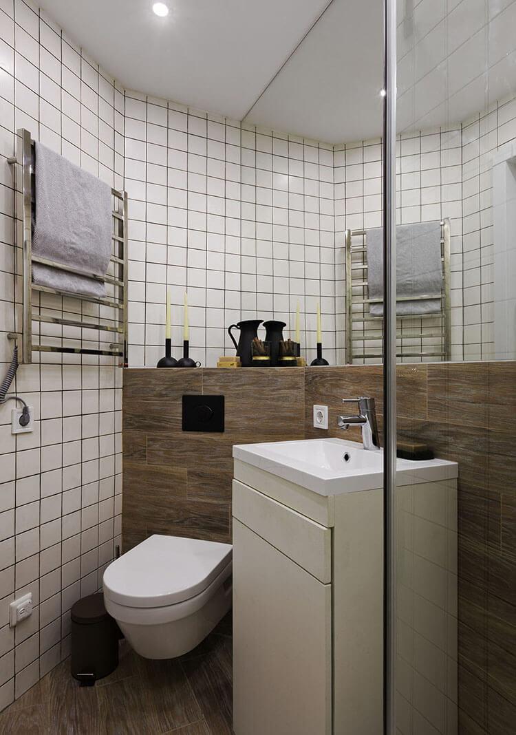 Dù thiết kế nội thất căn hộ 70m2 hay 17m2 thì vẫn đẹp như thường