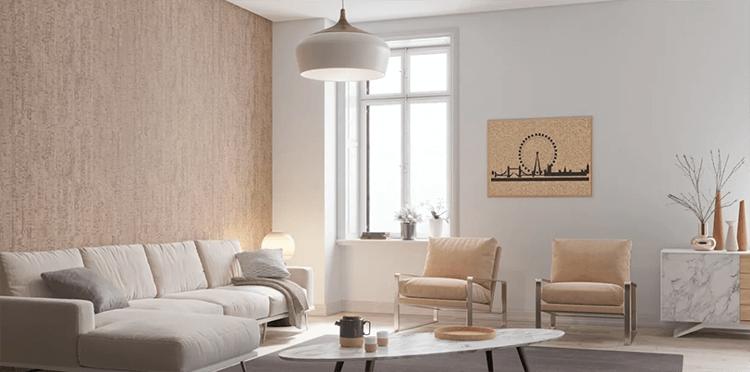 Mẫu thiết kế nội thất phòng khách nhỏ ấn tượng