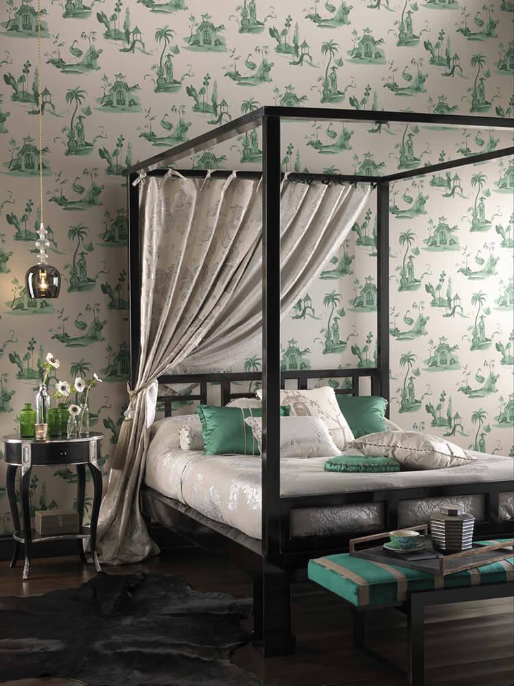 Những cách kết hợp phong cách Chinoiserie vào thiết kế nội thất căn hộ 70m2