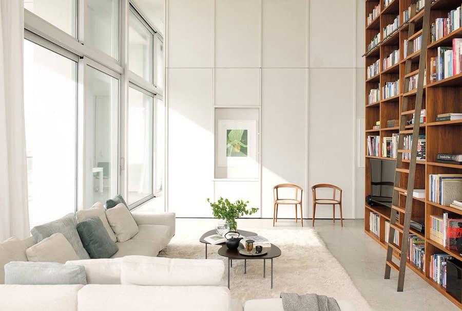 Màu sắc chủ đạo trong các thiết kế nội thất phong cách Bắc Âu theo hệ gam màu trắng. Gam màu mang lại cảm giác không gian rộng rãi và cực kỳ thoáng đãng.