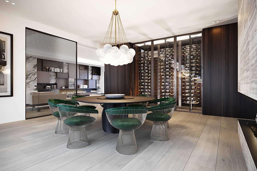 Thiết kế nội thất Penthouse Golden Star Quận 7