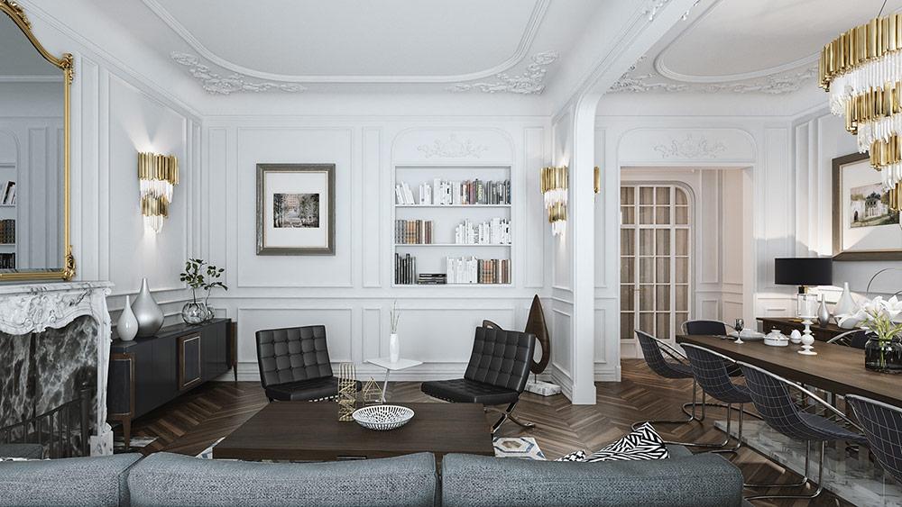 Màu sắc và chất liệu nội thất sẽ làm nổi bật phong cách sống của bạn