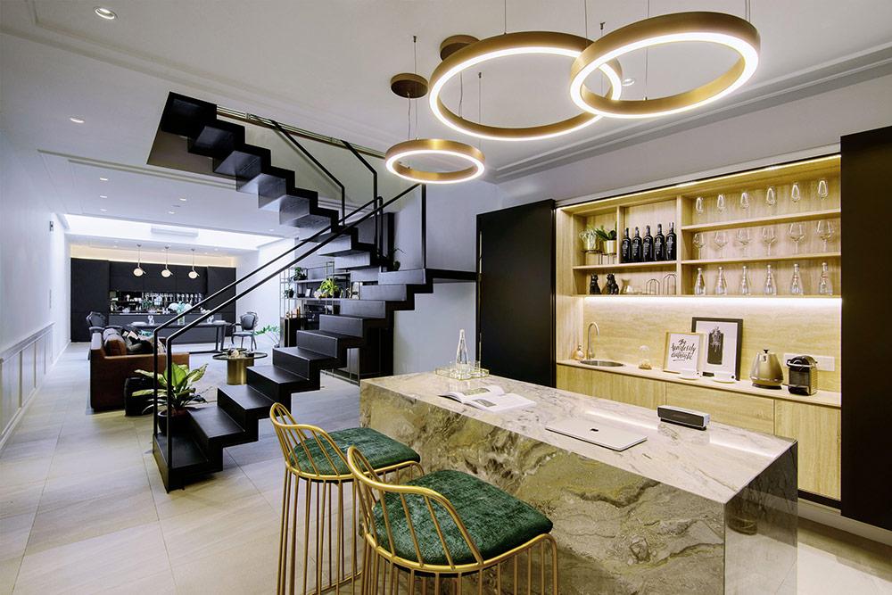 Sàn gạch được ứng dụng trong nhiều mẫu thiết kế nhà ở hiện đại