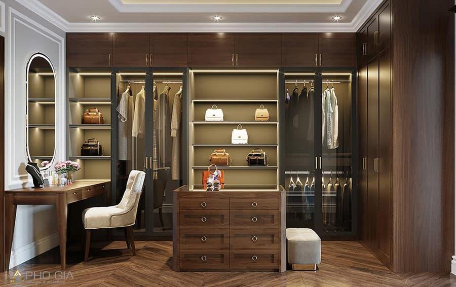 Sử dụng gỗ Óc Chó vào trang trí nội thất theo phong cách Cổ điển