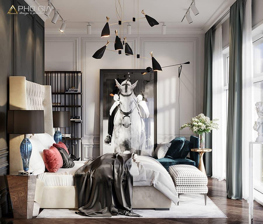 Phong cách thiết kế Đương đại kết hợp vật dụng nội thất bắt mắt và sáng tạo làm nên không gian Biệt thự Lakeview City Q. 2 ấn tượng.