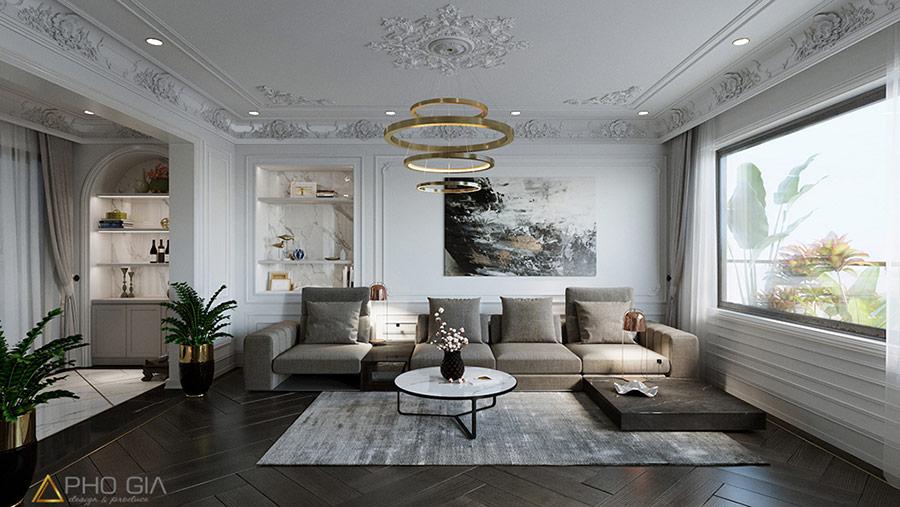 Đàn trang trí vừa giúp chiếu sáng, vừa nâng cao tính thẩm mỹ cho căn phòng