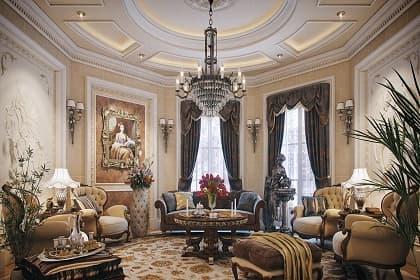 Thiết kế nội thất biệt thự lịch lãm, sang trọng và cá tính với 3 dạng đèn phổ biến