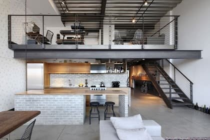 Thiết kế nội thất nhà phố phong cách công nghiệp và 4 bí quyết bỏ túi thú vị