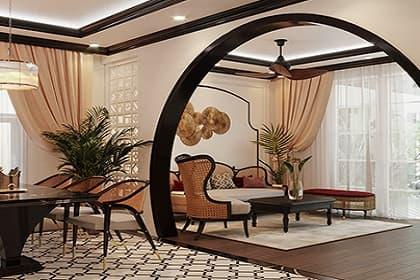 Thiết kế nội thất village phong cách Indochine và 3 vẻ đẹp Đông Dương khác biệt